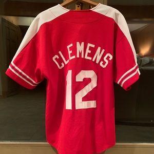 STARTER NY Yankees Roger Clemens baseball  jersey